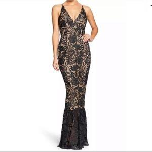 DRESS the POPULATION Sophia Lace Crochet Dress